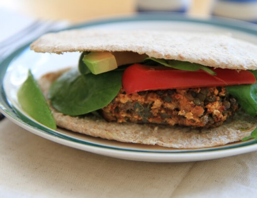 lentil-veggie-burger