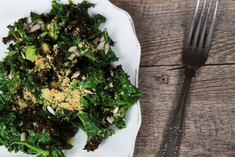Roasted Kale Salad