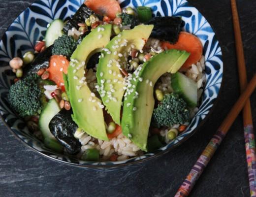 veggie-sushi-bowl