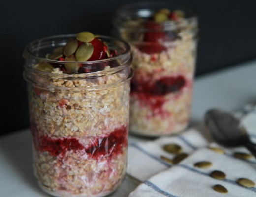 how to make bircher muesli with yogurt