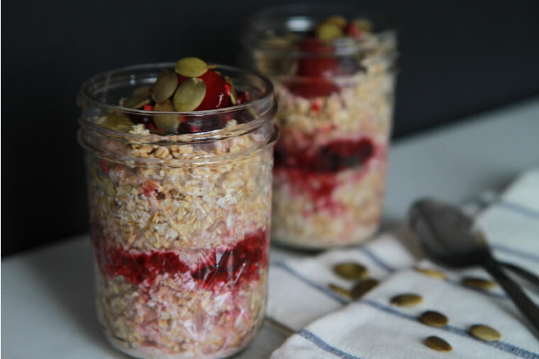 bircher-muesli-with-berry-compote