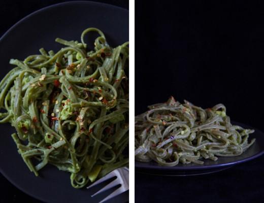 pasta-with-creamy-avocado-sauce