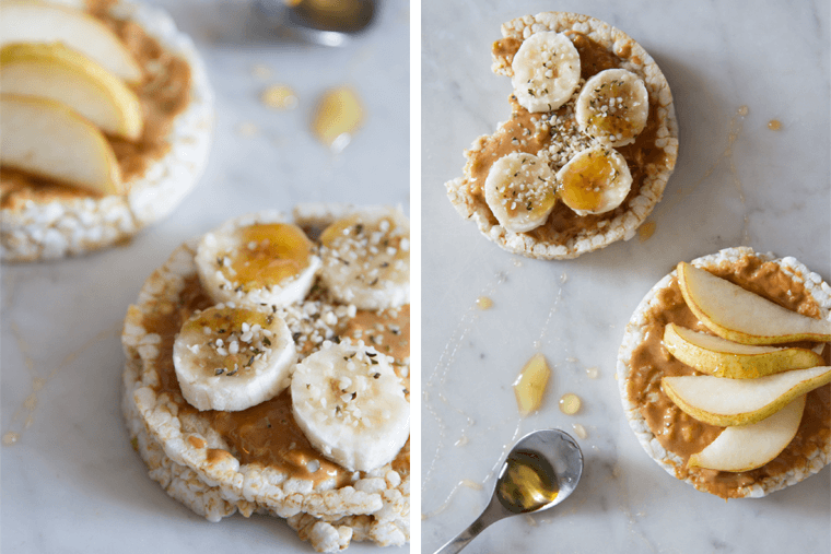 almond-butter-and-banana-rice-cakes